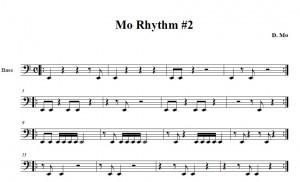 Mo Rhythm #2 part 1