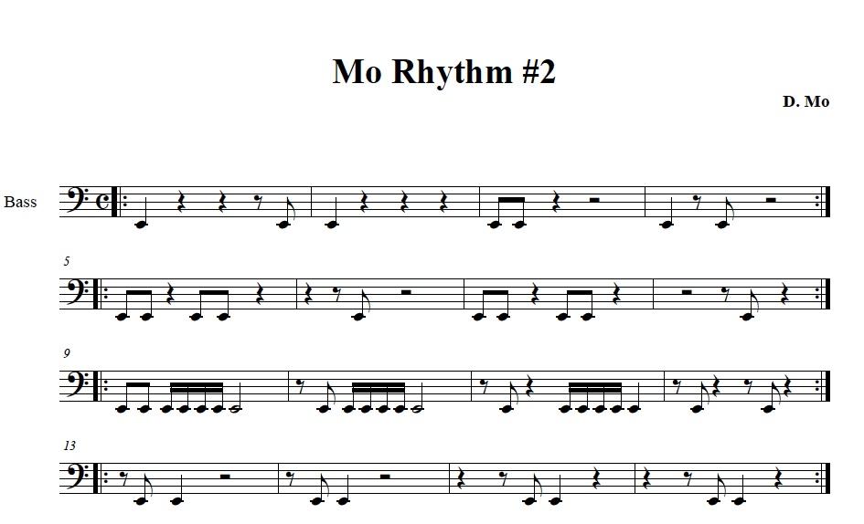 Mo Rhythm #2 part 1 - MoMethod com